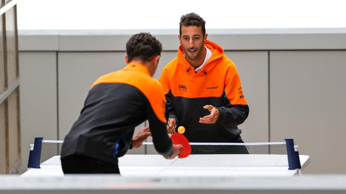 Daniel Ricciardo - Lando Norris - McLaren - Formel 1 - GP Russland - Sotschi - Donnerstag - 23.09.2021