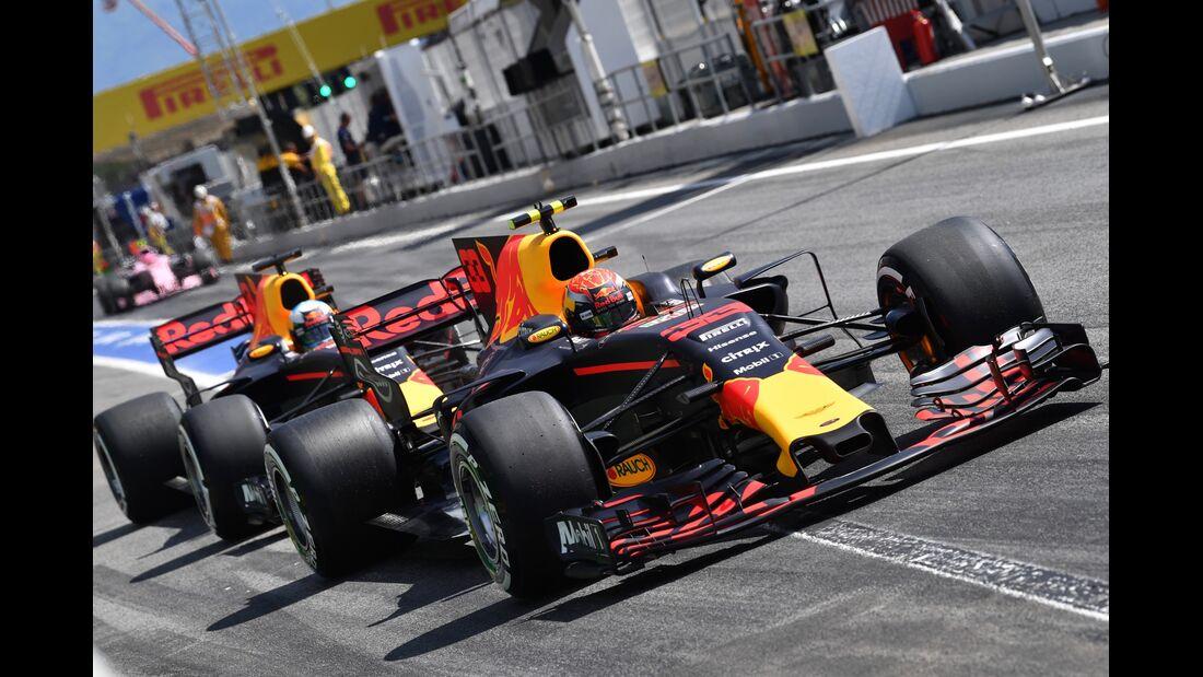 Daniel Ricciardo - Max Verstappen - Formel 1 - GP Spanien - 13. Mai 2017