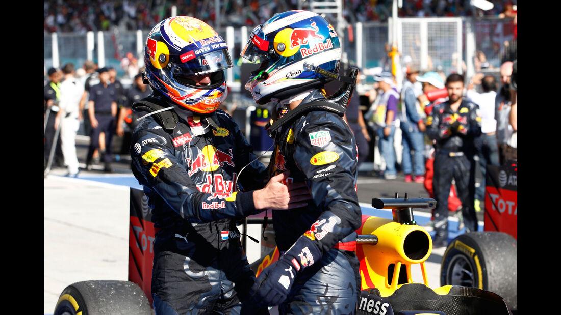 Daniel Ricciardo - Max Verstappen - GP Malaysia 2016