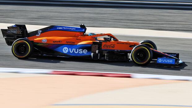Daniel Ricciardo - McLaren - F1 - Formel 1 - Testfahrten - Bahrain 2021