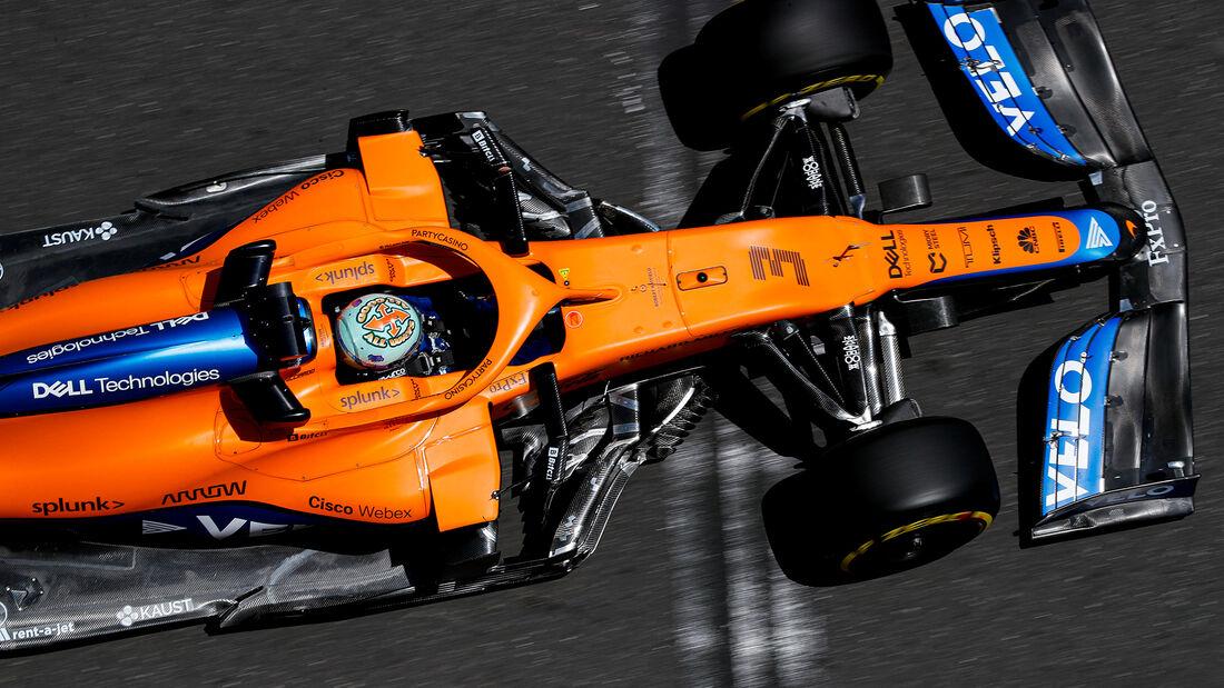 Daniel Ricciardo - McLaren - Formel 1 - GP Aserbaidschan - Baku - Freitag - 4.6.2021