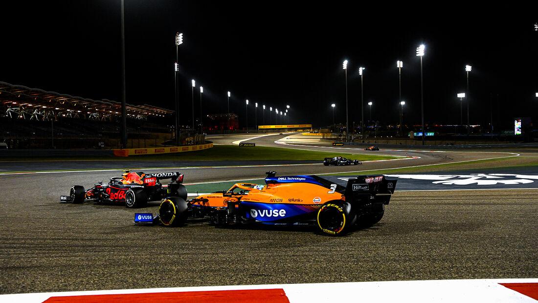 Daniel Ricciardo - McLaren - Formel 1 - GP Bahrain 2021 - Rennen