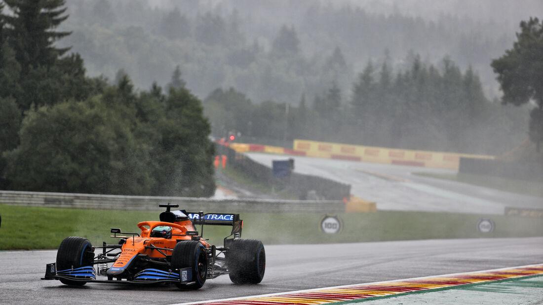 Daniel Ricciardo - McLaren - Formel 1 - GP Belgien - 28. August 2021