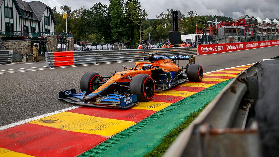 Daniel Ricciardo - McLaren - Formel 1 - GP Belgien - Spa-Francorchamps - 27. August 2021
