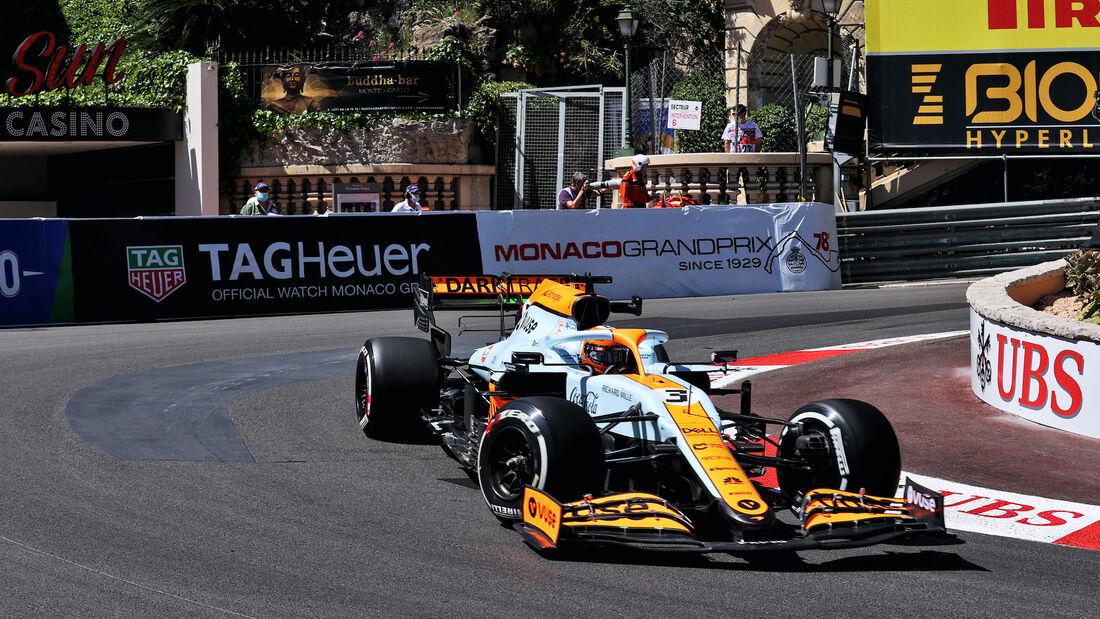 Daniel Ricciardo - McLaren - Formel 1 - GP Monaco - 20. Mai 2021