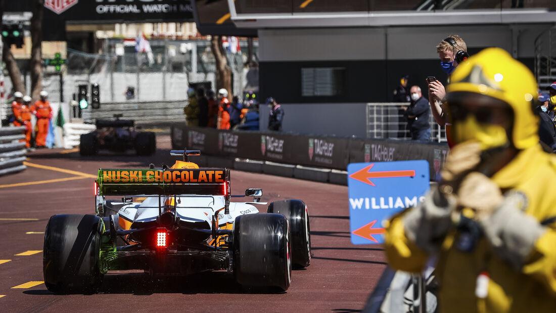 Daniel Ricciardo - McLaren - Formel 1 - GP Monaco 2021