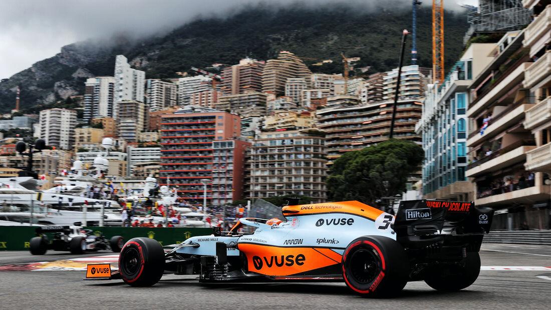 Daniel Ricciardo - McLaren - Formel 1 - GP Monaco - 22. Mai 2021