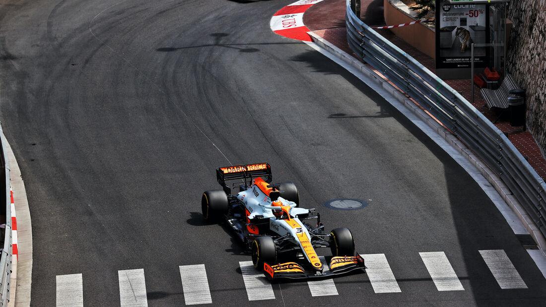 Daniel Ricciardo - McLaren - Formel 1 - GP Monaco - 23. Mai 2021