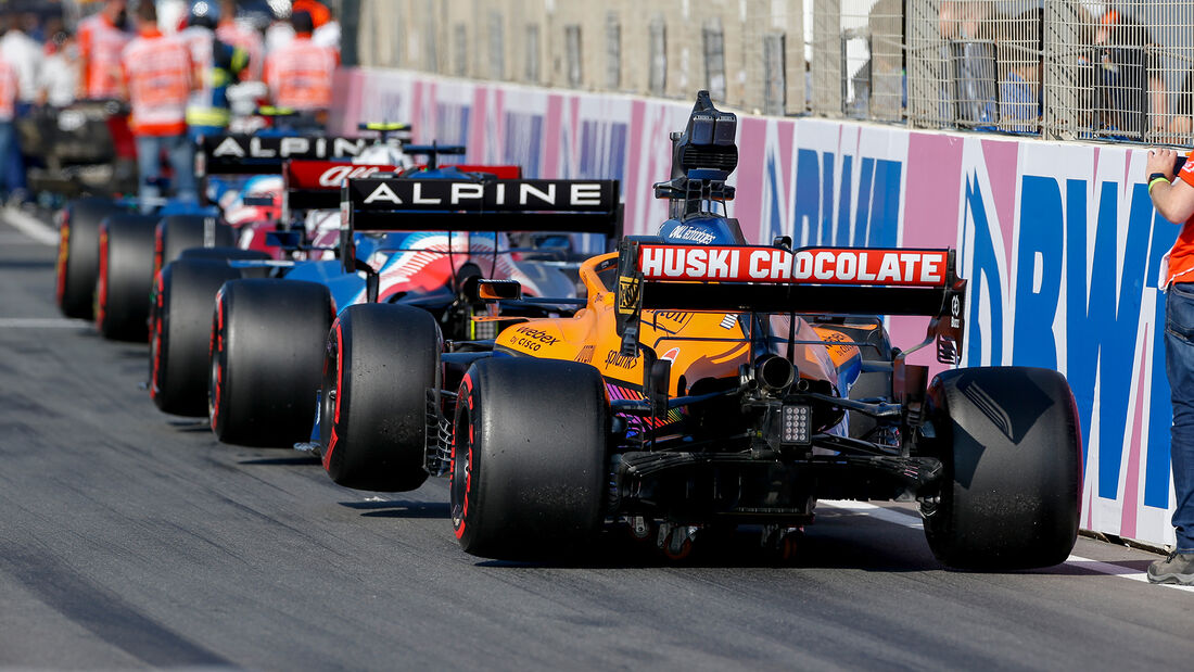 Daniel Ricciardo - McLaren - Formel 1 - GP Niederlande - 4. September 2021
