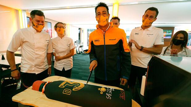 Daniel Ricciardo - McLaren - Formel 1 - GP Österreich - Spielberg - Donnerstag - 1.7.2021