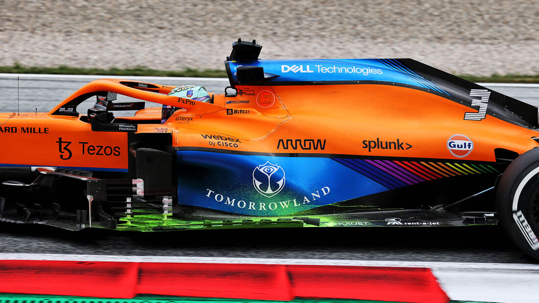 Daniel Ricciardo - McLaren - Formel 1 - GP Österreich - Spielberg - Freitag - 2.7.2021