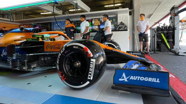 Daniel Ricciardo - McLaren - Formel 1 - GP Portugal - Portimao - 30. April 2021