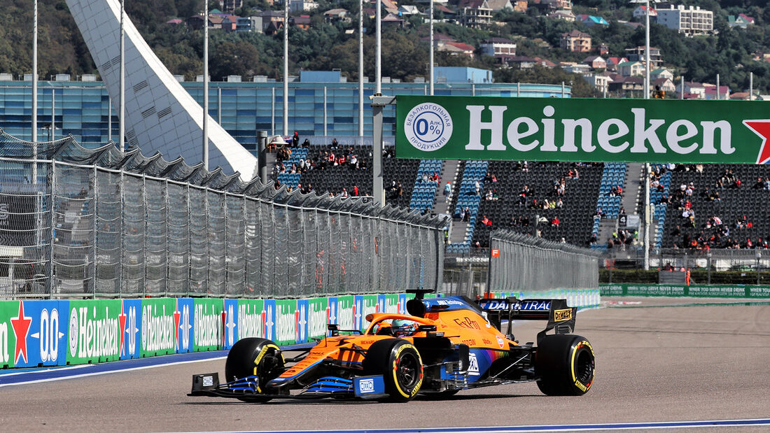 Daniel Ricciardo - McLaren - Formel 1 - GP Russland - Sotschi - 24. September 2021