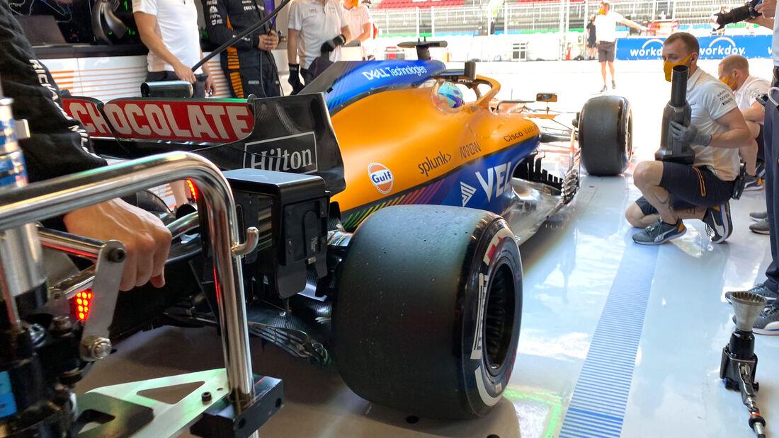 Daniel Ricciardo - McLaren - Formel 1 - GP Spanien - 7. Mai 2020