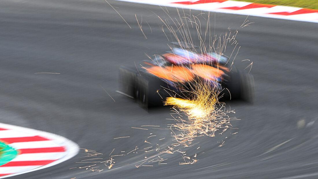 Daniel Ricciardo - McLaren - Formel 1 - GP Türkei - Istanbul - 8. Oktober 2021