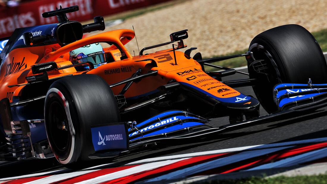 Daniel Ricciardo - McLaren - Formel 1 - GP Ungarn - Budapest - Freitag - 30. Juli 2021
