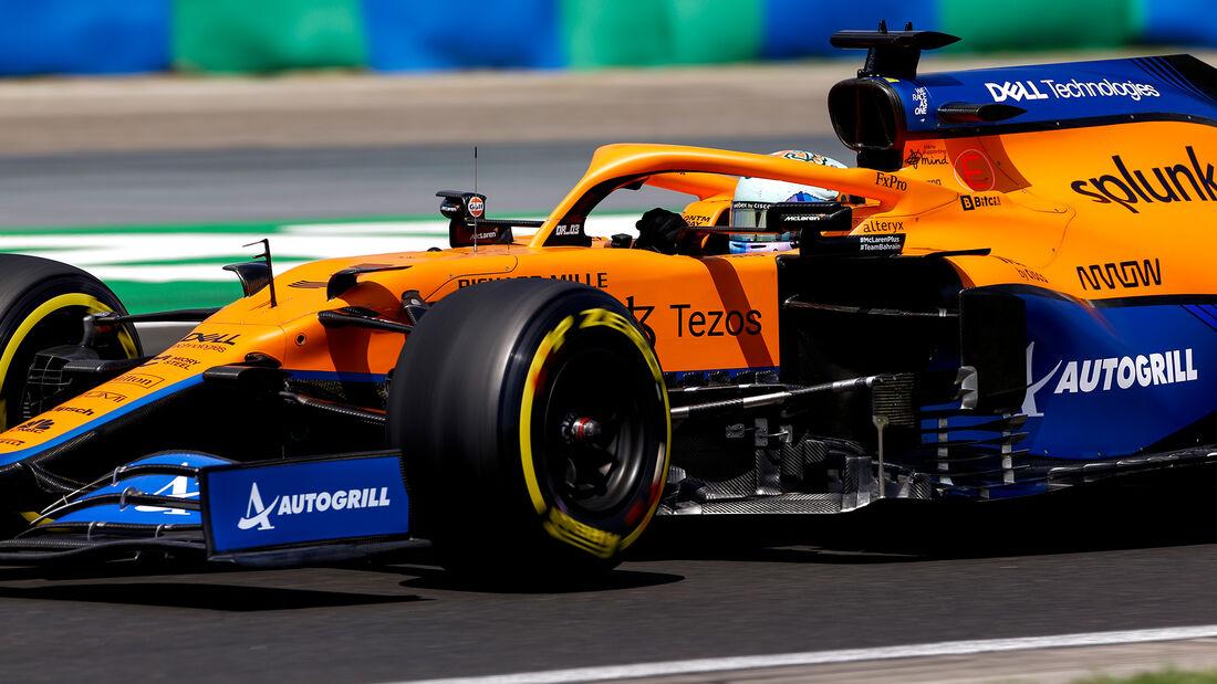 Daniel Ricciardo - McLaren - Formel 1 - GP Ungarn - Budapest - Samstag - 31. Juli 2021