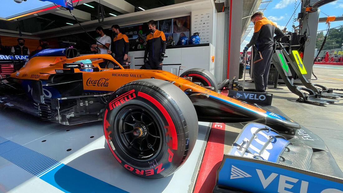 Daniel Ricciardo - McLaren - Formel 1 - Imola - GP Emilia-Romagna - 16. April 2021