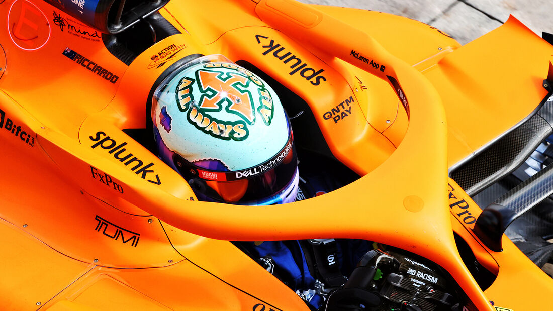 Daniel Ricciardo - McLaren - Formel 1 - Imola - GP Emilia Romagna - 16. April 2021