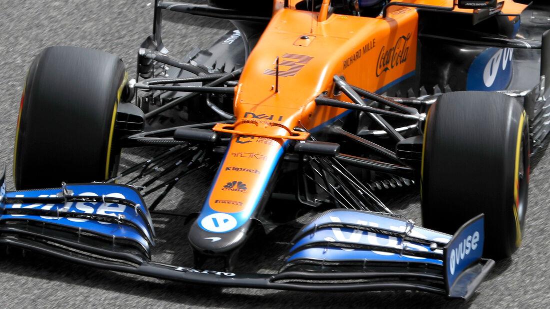 Daniel Ricciardo - McLaren - Formel 1 - Test - Bahrain - 13. März 2021