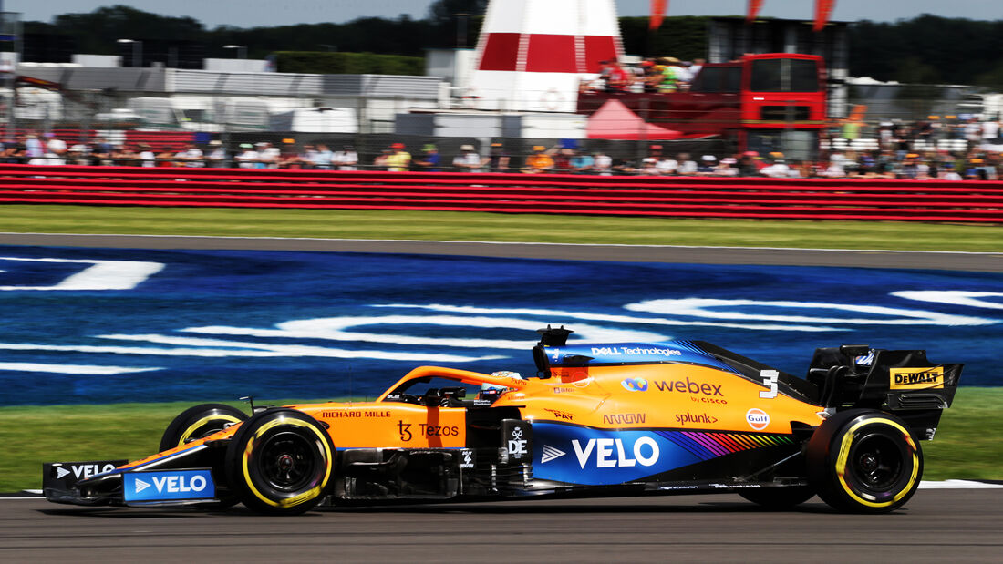 Daniel Ricciardo - McLaren - GP England - Silverstone  - Formel 1 - 16. Juli 2021