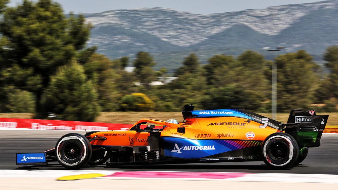 Daniel Ricciardo - McLaren - GP Frankreich - Le Castellet - Paul Ricard Circuit - 18. Juni 2021