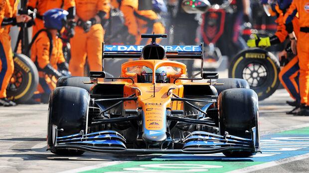 Daniel Ricciardo - McLaren - GP Italien 2021 - Monza