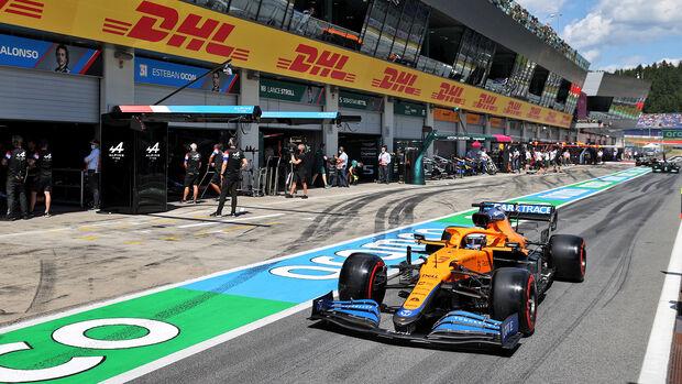 Daniel Ricciardo - McLaren - GP Österreich 2021 - Spielberg - Qualifikation