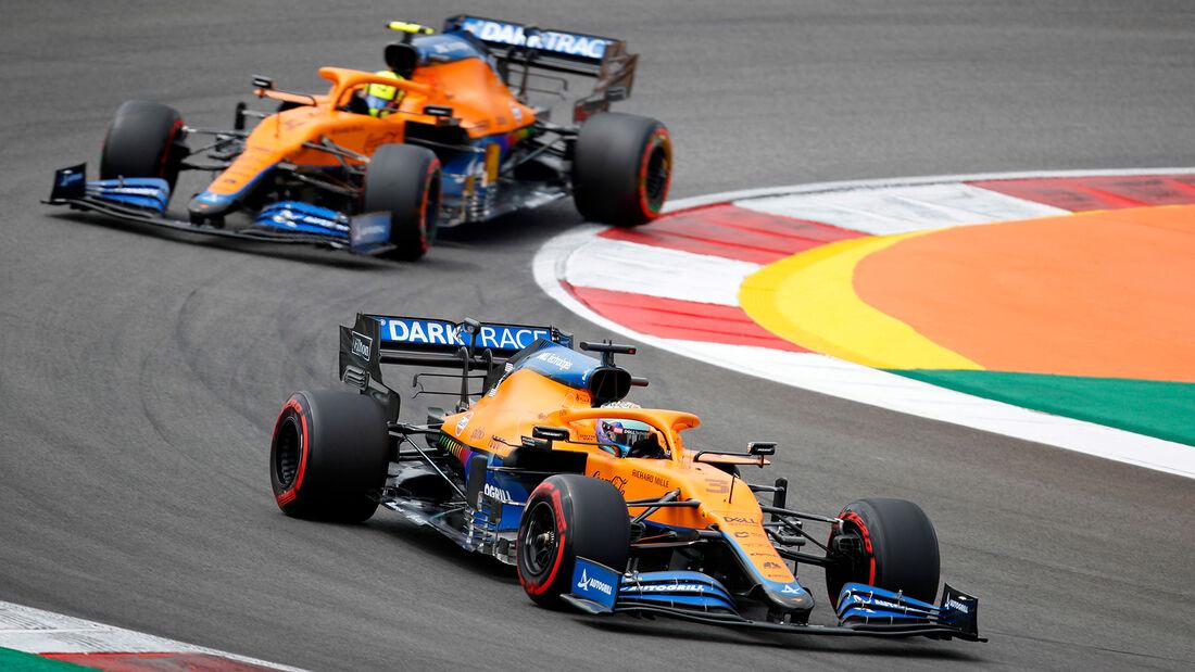 Daniel Ricciardo - McLaren - GP Portugal - Portimao - 1. Mai 2021