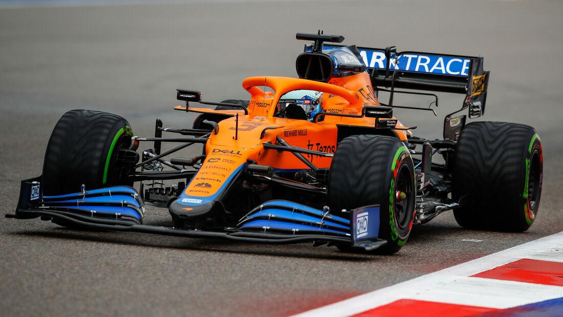 Daniel Ricciardo - McLaren - GP Russland 2021 - Sotschi