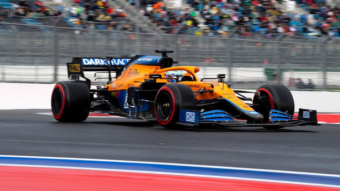 Daniel Ricciardo - McLaren - GP Russland 2021 - Sotschi - Samstag