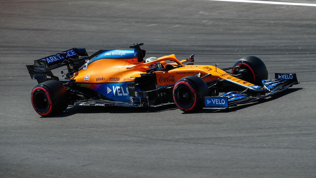 Daniel Ricciardo - McLaren - GP Spanien - Barcelona - Formel 1 - Samstag - 8.05.2021
