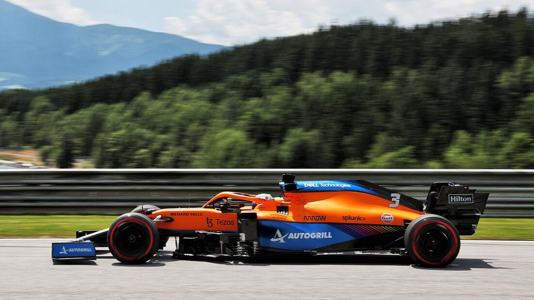 Daniel Ricciardo - McLaren - GP Steiermark - Spielberg - Formel 1 - 25. Juni 2021