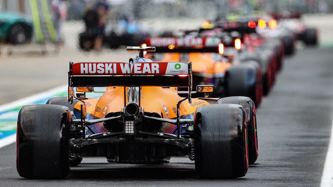 Daniel Ricciardo - McLaren - GP Türkei - Istanbul - Formel 1 - 9. Oktober 2021