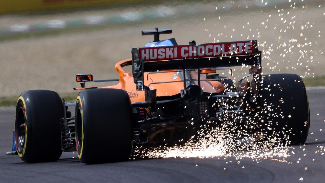 Daniel Ricciardo - McLaren - Imola - Formel 1 - GP Emilia Romagna - 17. April 2021