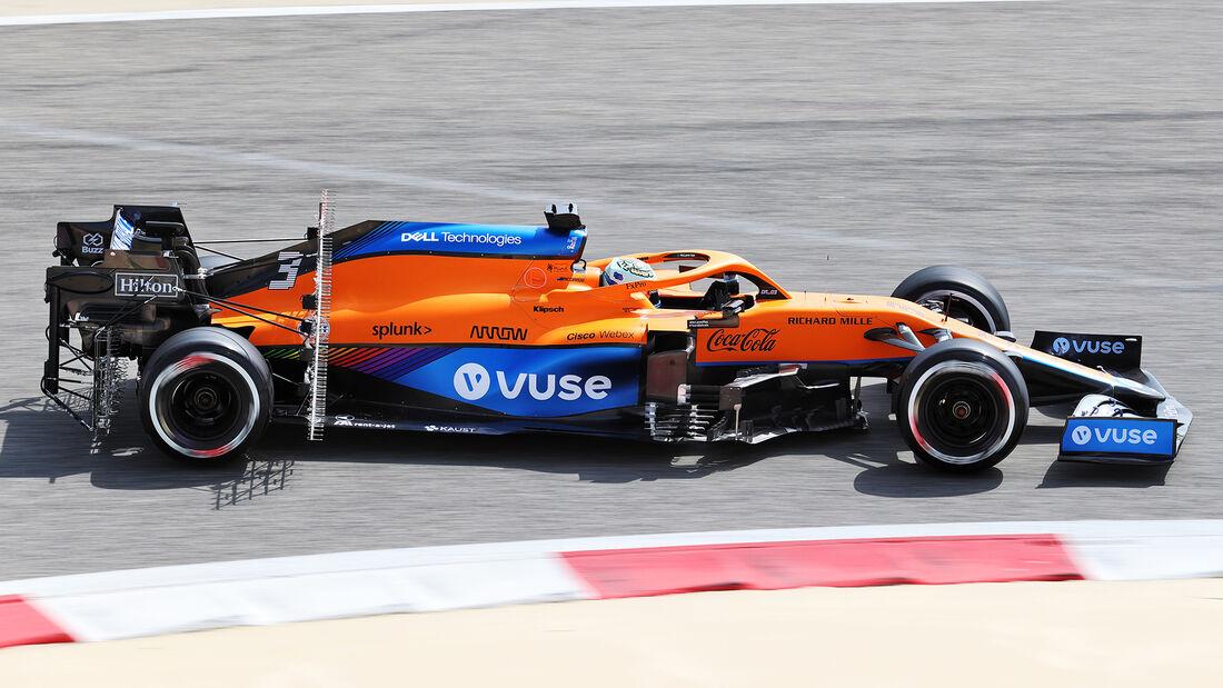 Daniel Ricciardo - McLaren - Test - Formel 1 - Bahrain - 12. März 2021
