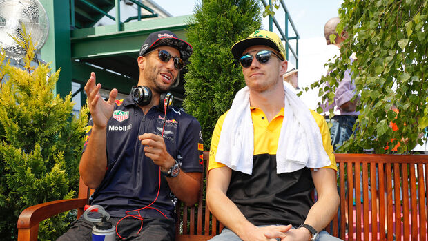 Daniel Ricciardo & Nico Hülkenberg - GP Ungarn 2018