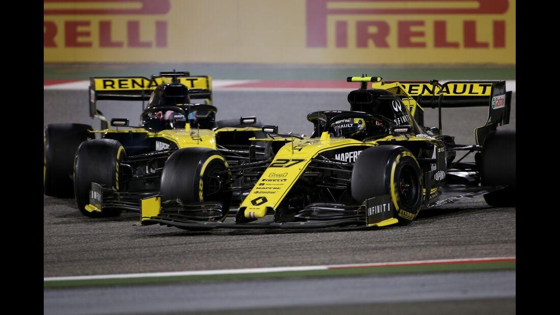 Daniel Ricciardo - Nico Hülkenberg - Renault - Formel 1 - GP Bahrain - 31. März 2019