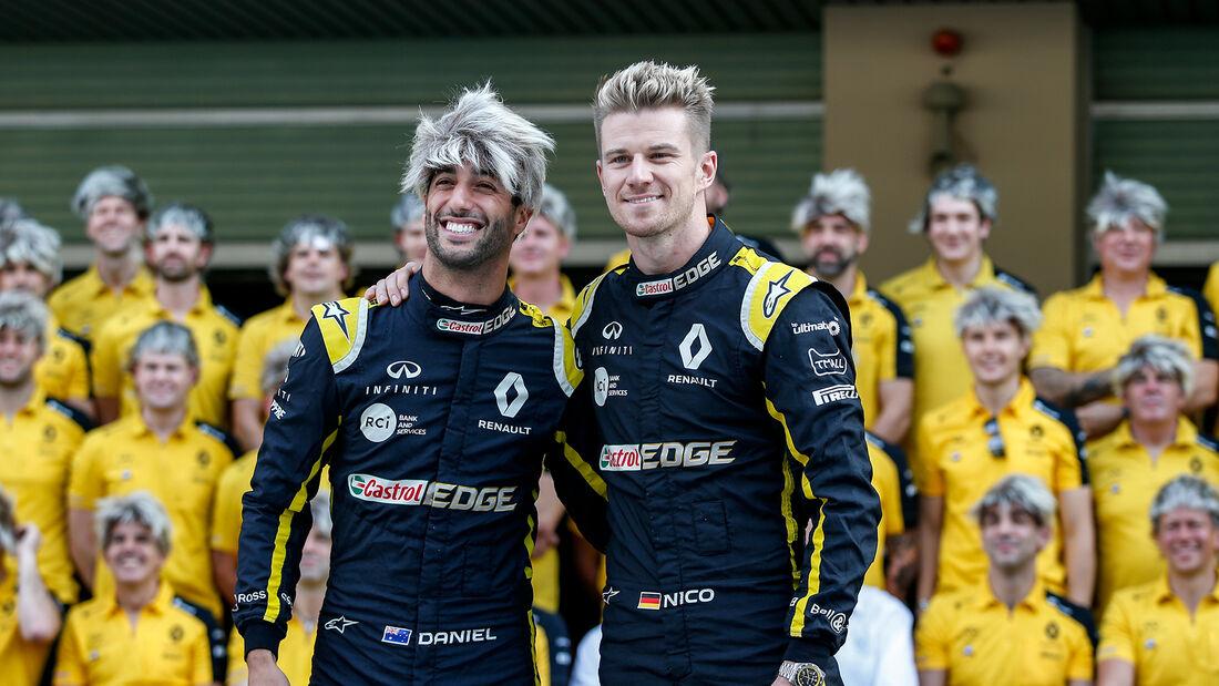 Daniel Ricciardo - Nico Hülkenberg - Renault - GP Abu Dhabi 2019