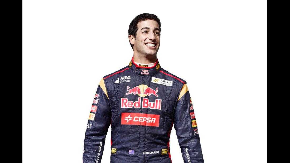 Daniel Ricciardo Porträt 2013