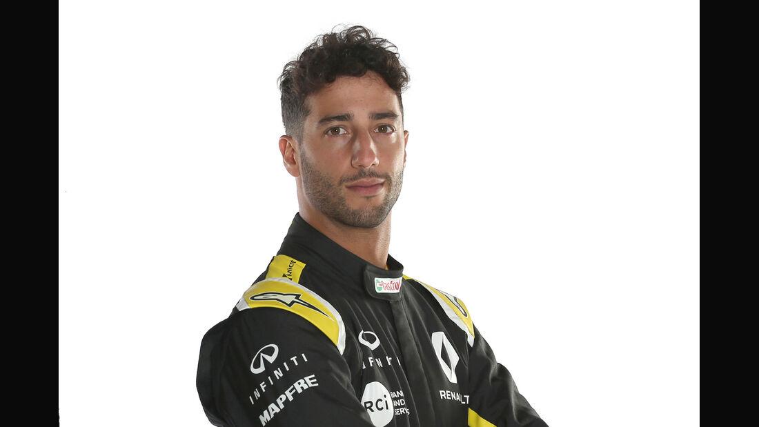 Daniel Ricciardo - Porträt - 2019