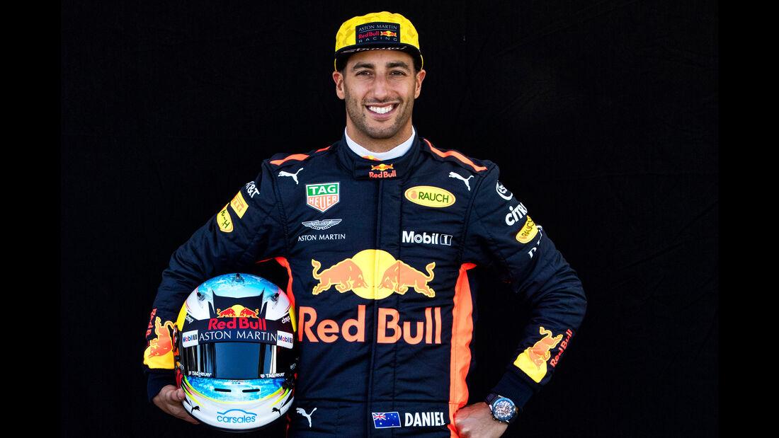 Daniel Ricciardo - Porträt - Formel 1 - 2018