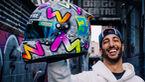 Daniel Ricciardo - Porträt & Helm - Formel 1 - 2020