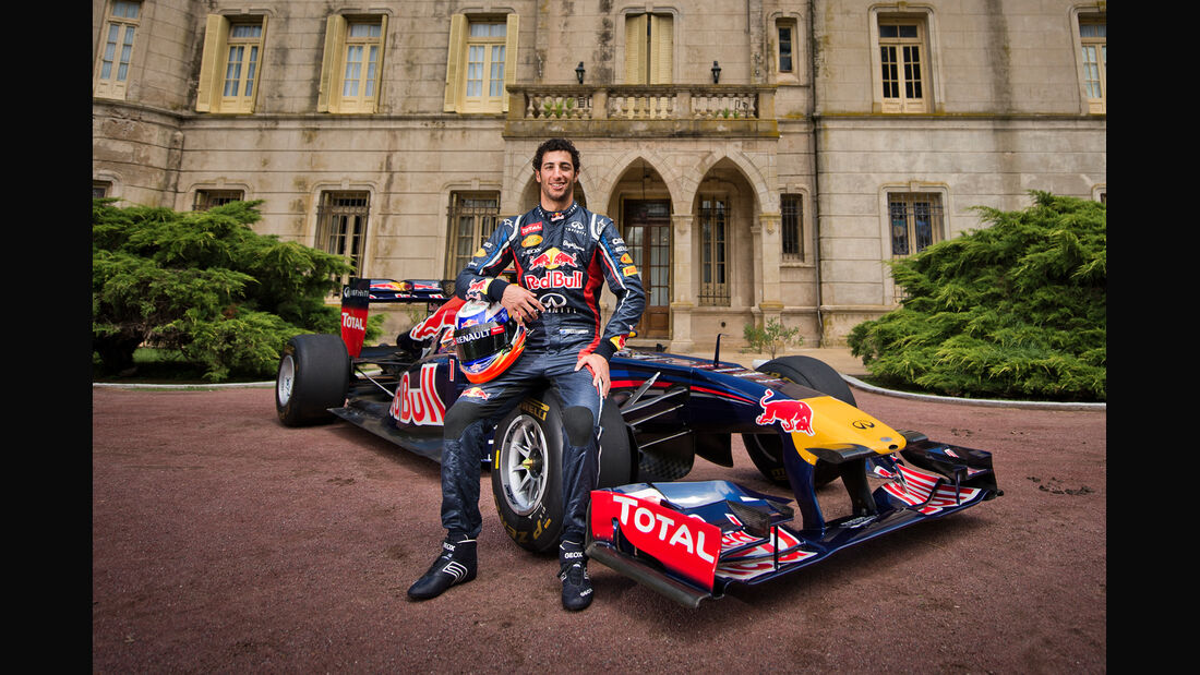 Daniel Ricciardo - Red Bull 2012