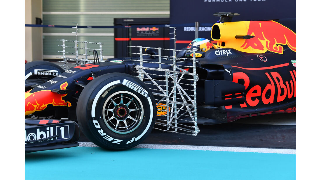 Daniel Ricciardo - Red Bull - Abu Dhabi - Test 1 - 28. November 2017