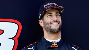 Daniel Ricciardo - Red Bull - F1-Test - Barcelona - 2017