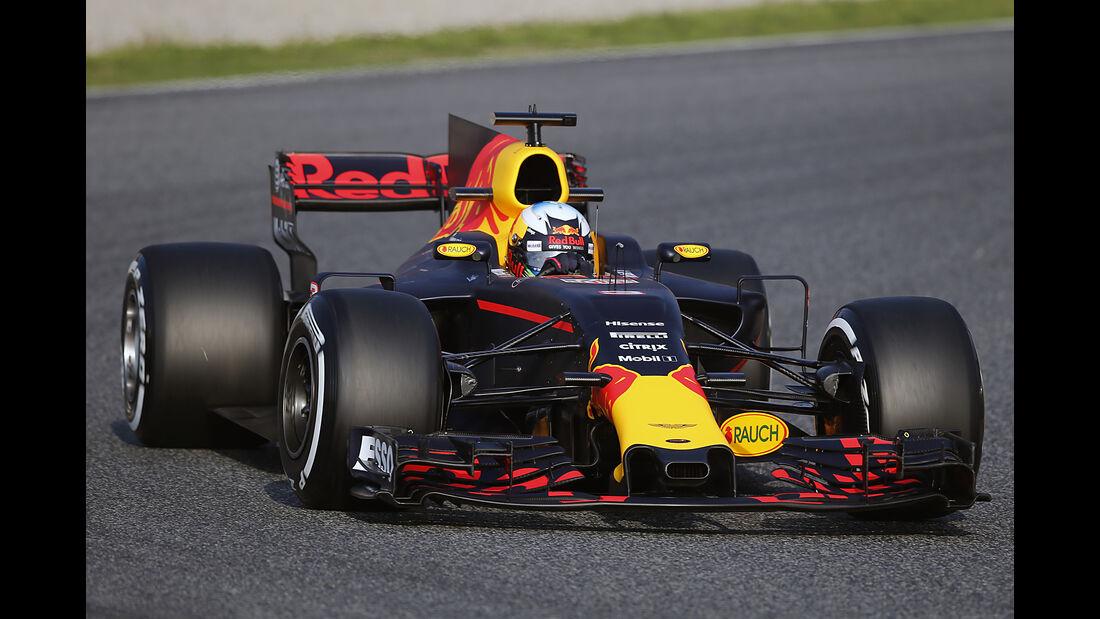 Daniel Ricciardo - Red Bull - F1-Test - Barcelona - 27. Februar 2017