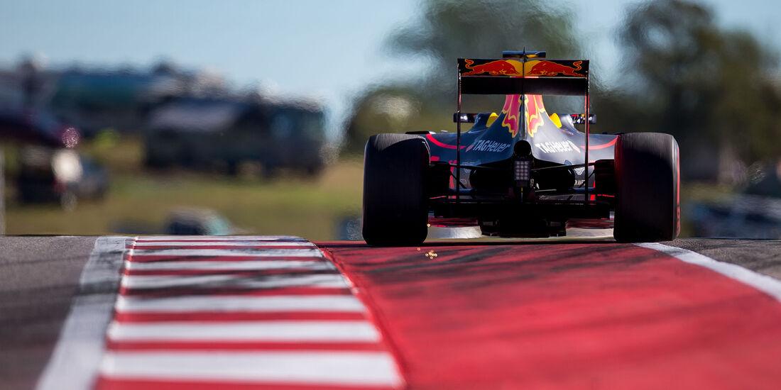 Daniel Ricciardo - Red Bull - Formel 1 - Austin - GP USA - 22. Oktober 2016