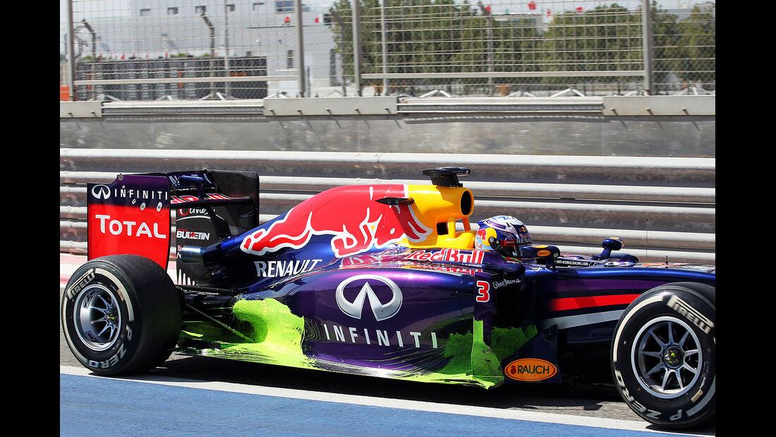 Daniel Ricciardo - Red Bull - Formel 1- Bahrain - Test - 21. Februar 2014