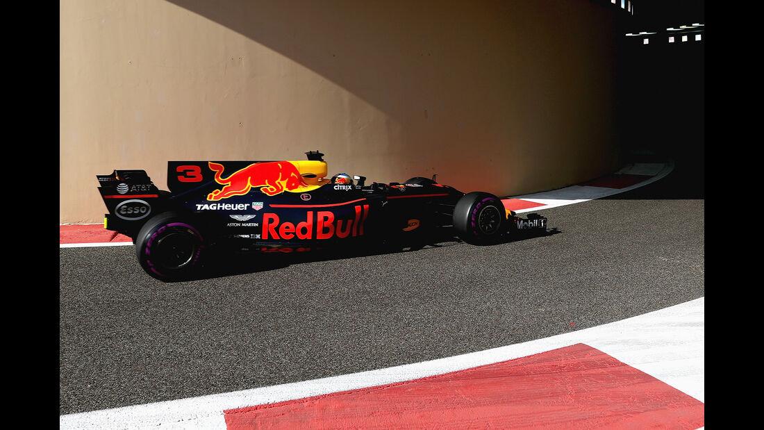 Daniel Ricciardo - Red Bull - Formel 1 - GP Abu Dhabi - 24. November 2017